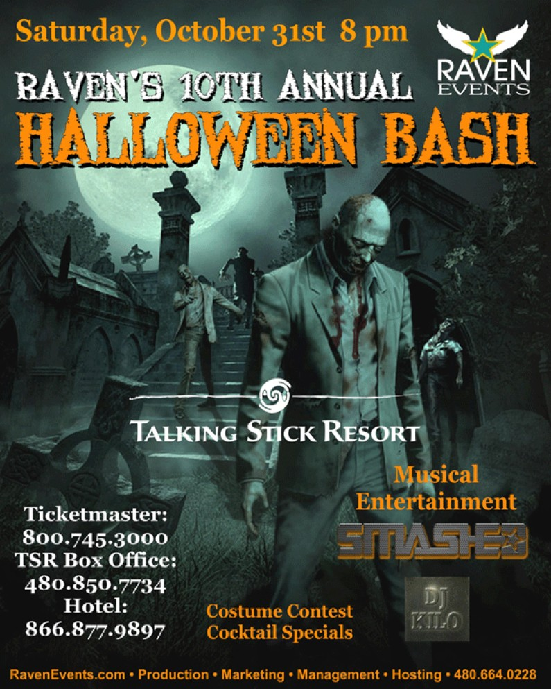 Raven's 10th Annual HALLOWEEN BASH |