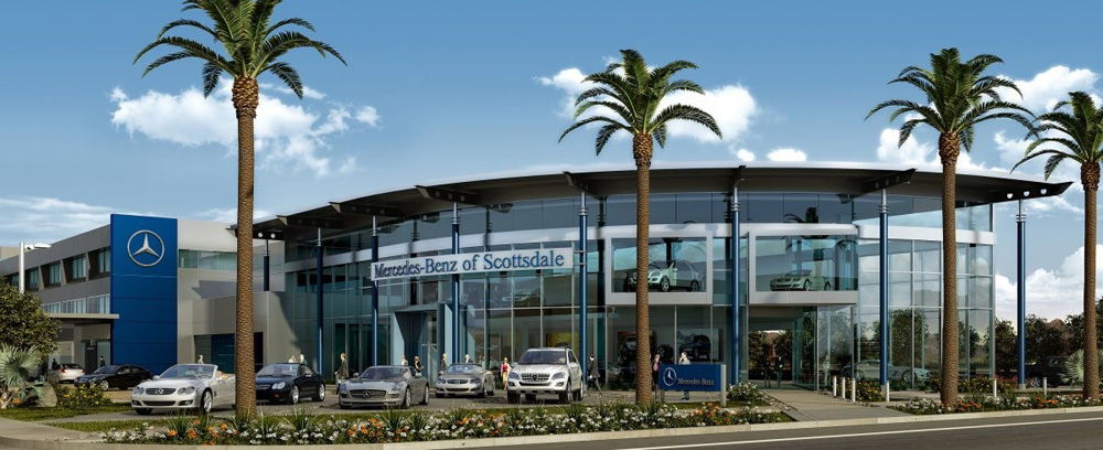 Grand opening of mercedes benz of scottsdale dealership for Mercedes benz north scottsdale