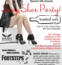 Raven's 6th Annual SEXY SHOE PARTY