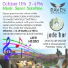 SUNDAYS IN PARADISE presented by Raven Events – Oct. 11th 2 PM