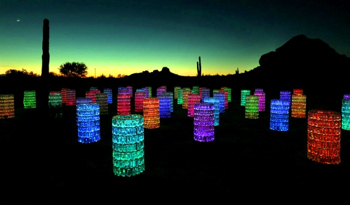 Bruce Munro: Sonoran Light at Desert Botanical Garden