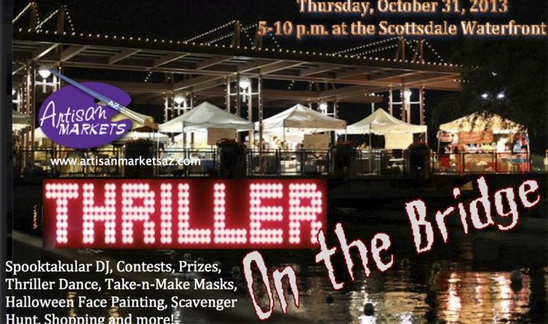 Artisan Markets with Thriller On The Bridge 2013