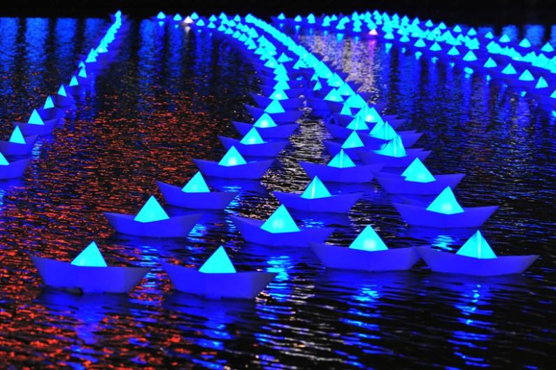 Scottsdale Public Arts presents Canal Convergence: Water + Art + Light