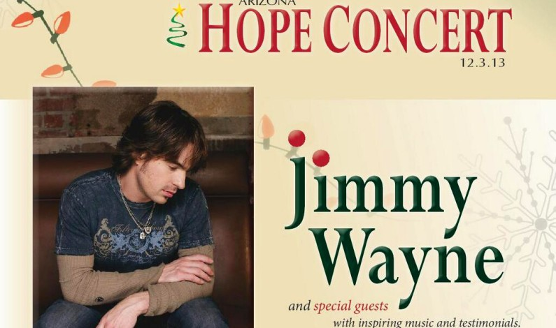 The Arizona Hope Concert with Jimmy Wayne Benefits Siblings in Foster Care!