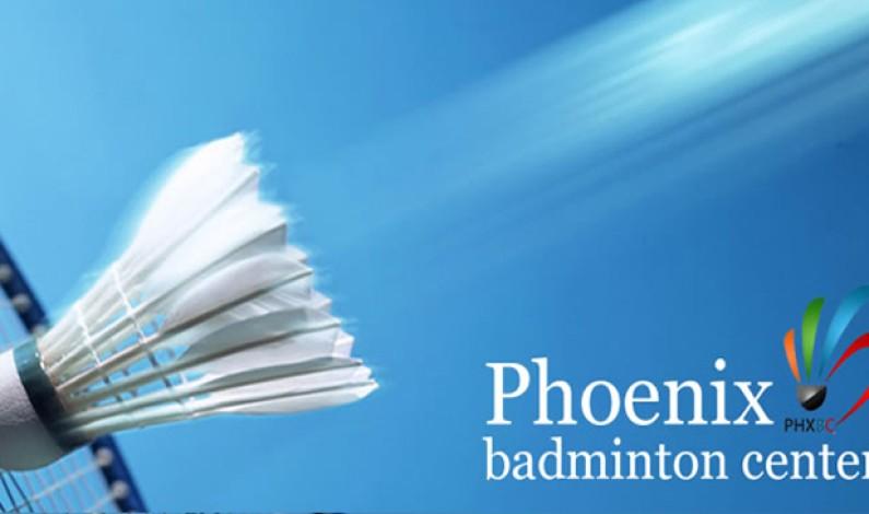 Phoenix Goes Pro with New Badminton Facility