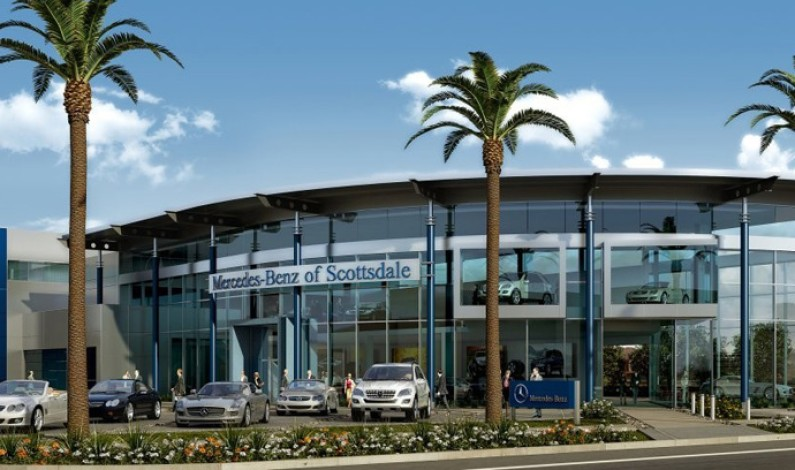 Grand Opening of Mercedes Benz of Scottsdale Dealership