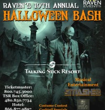 Raven's 10th Annual HALLOWEEN BASH