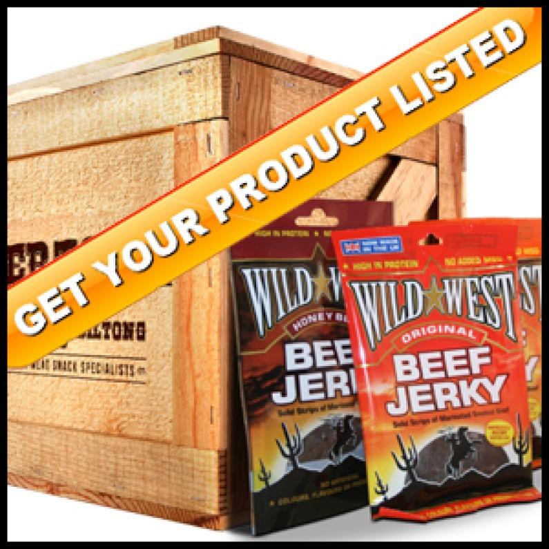 Wild West Beef Jerky