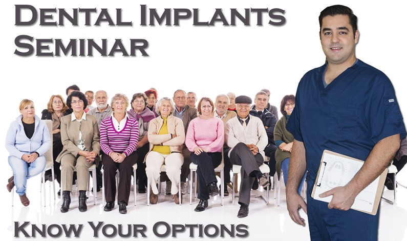 """Dr. E. Pourshirazi in Phoenix AZ presents """"Know Your Options When It Comes To Dental Implants,"""" an Educational Seminar for Patients Seeking Dental Implant Solutions"""