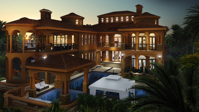 Next Generation Living Homes presents our Modern Mediterranean House Plan