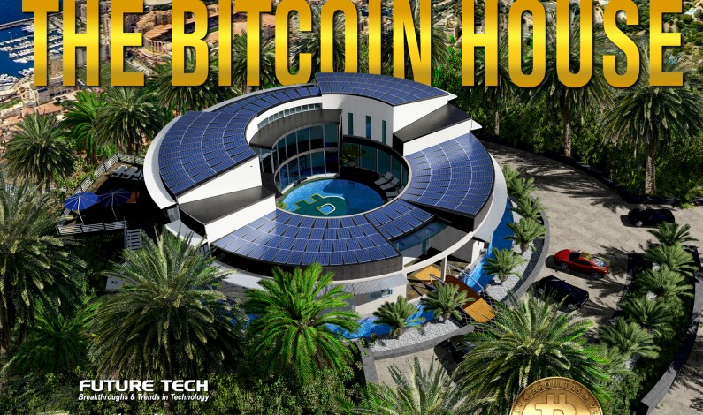 The Bitcoin House available Worldwide