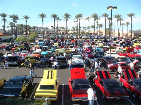 The Scottsdale Pavilions Car Show - Scottsdale car show today
